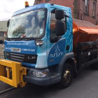 Winterised Iveco Gritter Wrap