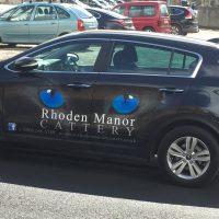 Rhoden Manor Cattery Vinyl