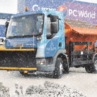 Winterised Iveco Gritter